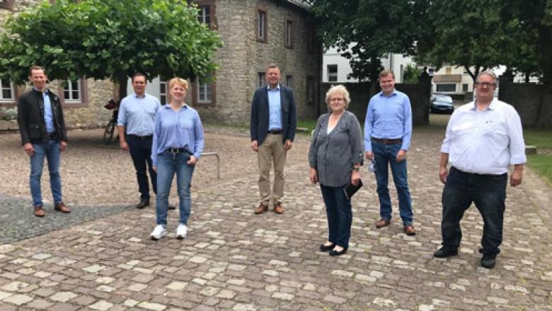 Anlässlich des Infomarktes zur Landesgartenschau 2023 in Ottbergen