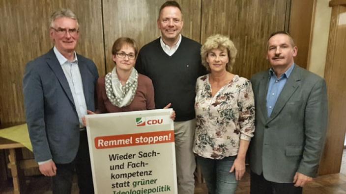 Lantagskandidat Mathias Goeken stellt sich in Stahle vor